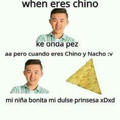 """Y aquí les traigo otro meme relacionado con la banda Chino y Nacho nose si lo conocen pero ñe hay buscan por youtube creo que la canción se llama """"mi bebe bonita"""" algo así no se xdxdxdxdx ahí ta"""