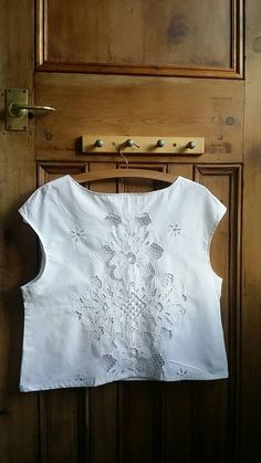 Womens lace blouse hand made white cotton blouses ladies tops and tees lace black floral top clothing sleeveless shirt Dolly Topsy Etsy UK