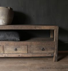 Elmwood tv meubel/laag dressoir