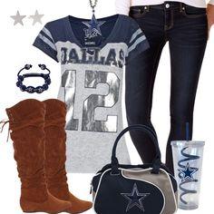 18bc66f0d13 Dallas Cowboys Fashion - Trendy Chill Cowboys Fan Dallas Cowboys Football,  Best Football Team,