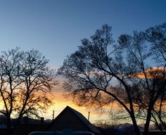 black lace trees/ sunset-colored cloud bands/ wind hums snow songs #haiku #spring #Colorado #nature