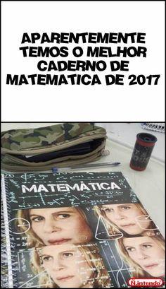 O melhor caderno! Quero pra 2018