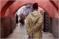 Marrakesh, Morocco- this would certainly be off the beaten path for me, but those markets would be incredible to see/ smell.