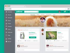 Social Network for Pet Lovers by Helder Leal