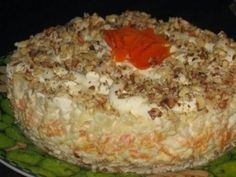 Delicious Recipes | Salads. Bakery products . Dessert Salad «Valentine»