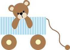 Bebê (Menino e Menina) 3 - blue wagon.png - Minus