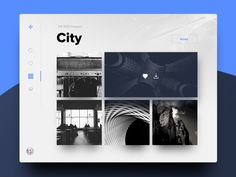 Day.99 - categories bigger. Super coole exploration UI designs von einer 100 Tage Design challenge.