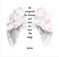 'Wings' #atticuspoetry #atticus #wings #scars