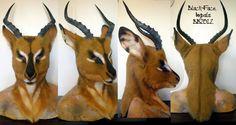 BlackFace Impala Head by Magpieb0nes on DeviantArt