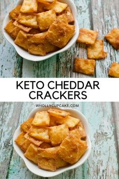 Keto cheddar crackers keto recipes in 2018 Keto Foods, Ketogenic Recipes, Keto Snacks, Low Carb Recipes, Healthy Snacks, Ketogenic Diet, Coconut Flour Recipes Keto, Diet Recipes, Top Recipes