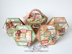 *ClayGuana: Time To Celebrate - A set of cards in a box