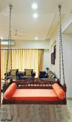 Indian Bedroom Interior Design Lovely Pin by Anita Gopalakrishnan On Good to Kno… – Indian Living Rooms Indian Interior Design, Home Room Design, Living Room Interior, Interior Design Living Room, Ethnic Home Decor, Indian Home Decor, Home Decor Furniture, Home Decor Bedroom, Arrange Furniture