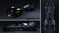 Batmobile - 1989 by bruno-leveque