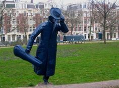 Amsterdam's funny statues