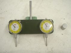 """Milling Tram Gauge by Catfish -- Milling Machine Tram Gauge, Made from 1/2"""" thick 6061 Alu. then I anodized it.  This is a great tool, makes tramming fast and..."""