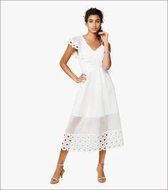 Next One Shoulder Lace Dress
