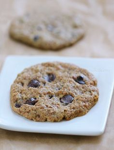 Chocolate Chip Cookies for 1. Double it for 2 people .