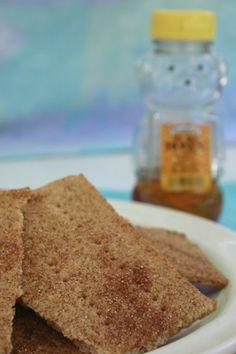 Cinnamon Sugar Graham Crackers, gluten free, gf, gluten free snack ideas