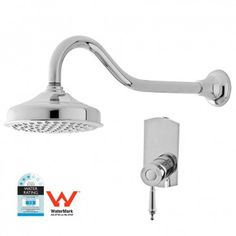 Rochelle Shower Mixer Package Chrome - Shower Sets - Tapware & Wastes - Bathroom