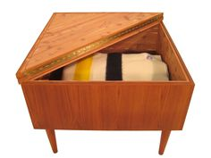 Teak Danish Cedar-lined Blanket Chest