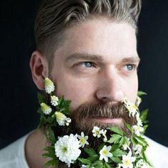 Barbe à fleurs