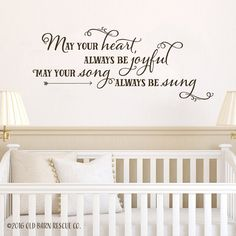 May your heart always be joyful may your song always be sung