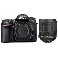 Nikon D7200 Digital SLR Camera  AF-S DX NIKKOR 18-105mm f/3.5-5.6G ED VR Lens
