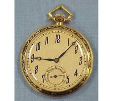 Some pocket watches made by famous makers such as Patek Philippe & Cie for American Retailers have sold for as much as $19,000 this past year.