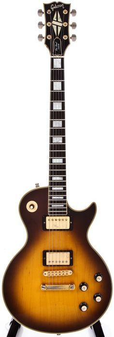 1978 Gibson Les Paul Custom Tobacco Sunburst Electric Guitar