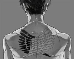 Tatto on pinterest flower of life attack on titan and for Attack on titan tattoo