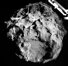 In August ESA's Rosetta Spacecraft will rendezvous with Comet and deploy the Philae lander. See photos from the Rosetta comet probe. Rosetta Spacecraft, Rosetta Mission, Space Probe, Astronomy Pictures, Hubble Pictures, Nasa Photos, Space And Astronomy, Our Solar System, Space Exploration
