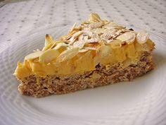 Švédsky mandľový koláč
