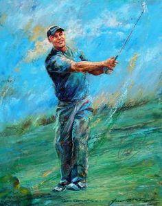 McTier Art: Golf Art