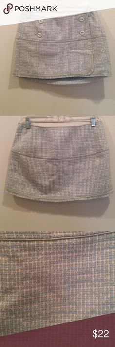 Abercrombie & Fitch mini skirt Abercrombie & Fitch mini skirt size 2 52% acrylic 48% wool lining is silk Abercrombie & Fitch Skirts Mini
