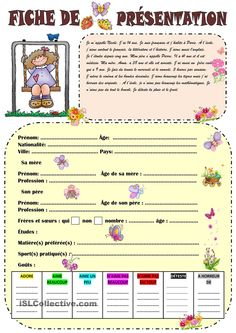 first day worksheet for french 2 and above French Teaching Resources, Teaching French, French Worksheets, Core French, French Education, French Grammar, French Classroom, French Teacher, French Language Learning