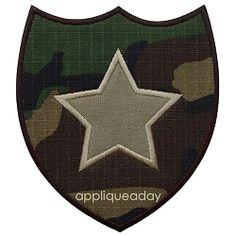 Military Patch 1 Applique -