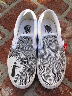 Thom Yorke Eraser vans
