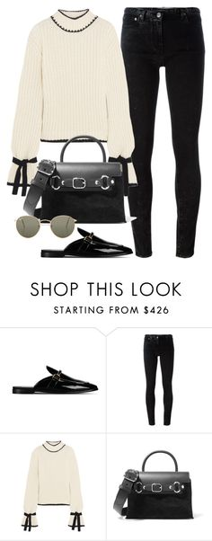 """Sin título #2386"" by camila-echi ❤ liked on Polyvore featuring STELLA McCARTNEY, Golden Goose, J.W. Anderson, Alexander Wang and Ray-Ban"