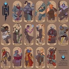 Choose Your Mercenary by Tyshea cover art cards poster packaging advertising marketing | Create your own roleplaying game material w/ RPG Bard: www.rpgbard.com | Writing inspiration for Dungeons and Dragons DND D&D Pathfinder PFRPG Warhammer 40k Star Wars Shadowrun Call of Cthulhu Lord of the Rings LoTR + d20 fantasy science fiction scifi horror design | Not our art: click artwork for source