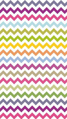 Wallpaper Iphone - Bright Colors Zigzag and Chevron iPhone 6 Plus Wallpaper - Tribal Print Pattern , Iphone 6 Plus Wallpaper, Chevron Wallpaper, Rainbow Wallpaper, Print Wallpaper, Cellphone Wallpaper, Cool Wallpaper, Pattern Wallpaper, Tribal Print Pattern, Tribal Prints