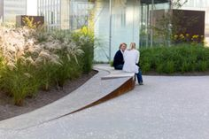 Elevated Corten Seat wall - Mandela Park