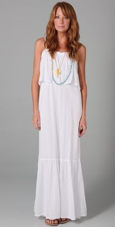 I ♡ Bohemian style dresses...