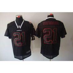 7546c442 nike arizona cardinals 21 patrick peterson lights out black elite jersey