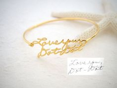♥♥♥ Do you keep your Notes or your loved ones' Handwriting!? Let us turn it to treasure jewelry for you to cherish always ♥ ♥ Simply send us