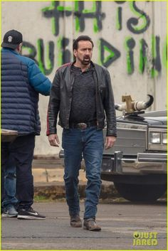 Nicolas Cage in Wally's Wonderland Nicolas Cage, Wonderland, Character