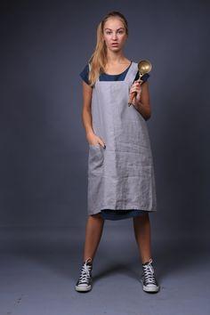 Pinafore / Linen apron