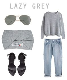 LAZY GREY LOOK I created using Polyvore CL STYLING HOUSE follow on instagram : taraleedelportcl #instagram Follow on Twitter : @Tara_Lee_CL #twitter Turbans, Cl, Lazy, Stylish, Twitter, Unique, Polyvore, House, Image