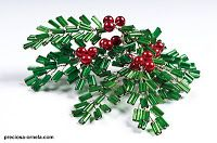 Seed bead Christmas decoration ideas
