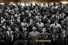 Candidatos TOTY FIFA 17