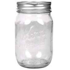 Kerr® 1 Pint Canning Jars
